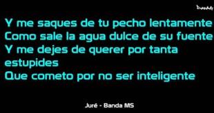 """(Letra) """"Jure"""" – Banda MS"""